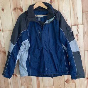 Columbia Mens Winter Ski Jacket Coat L